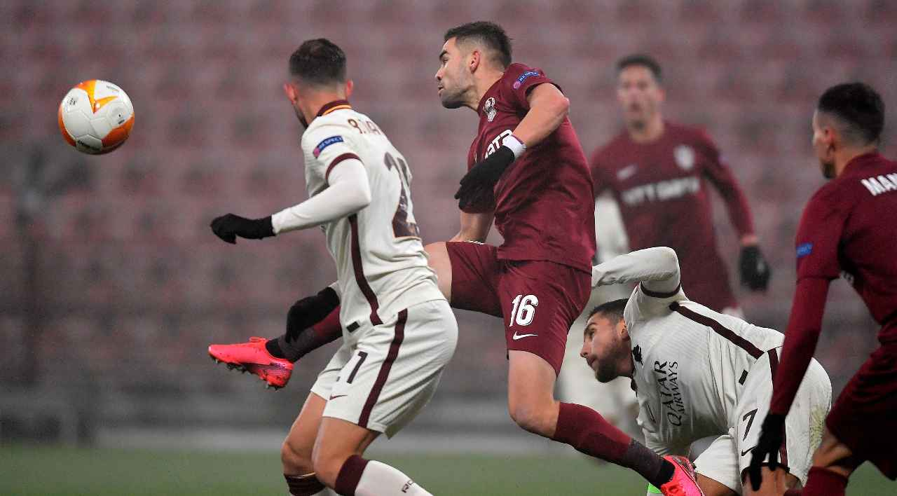 roma cluj europa league