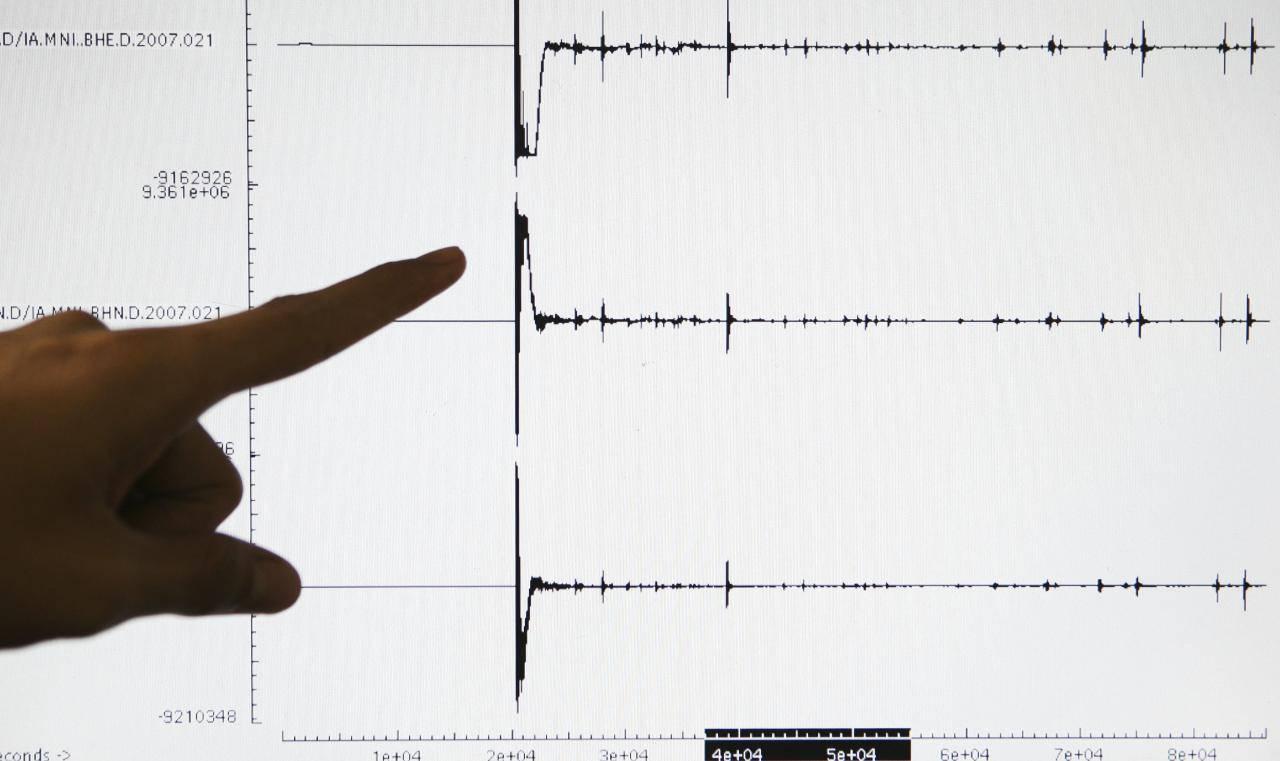 terremoto Ragusa Sicilia