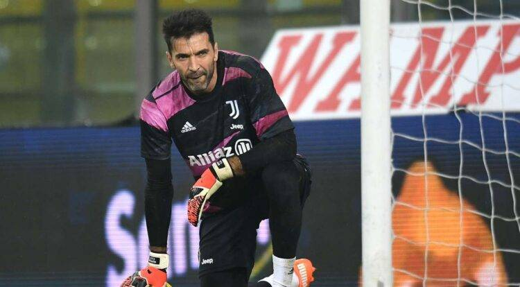 Buffon in campo