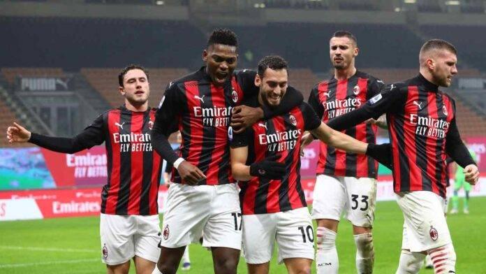 Con la vittoria sulla Lazio, il Milan rimane in vetta nell'anno solare 2020
