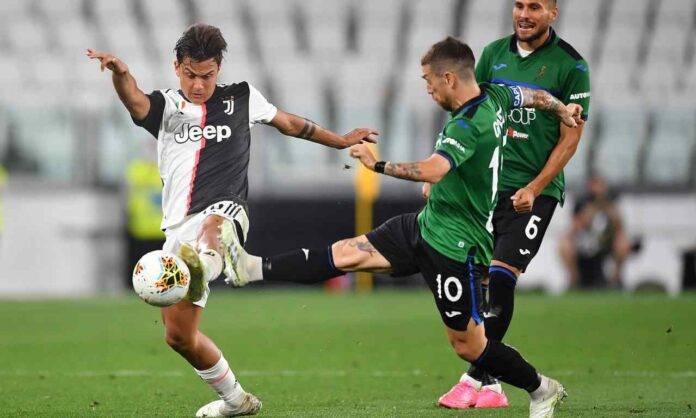 Juventus Atalanta Dybala Gomez