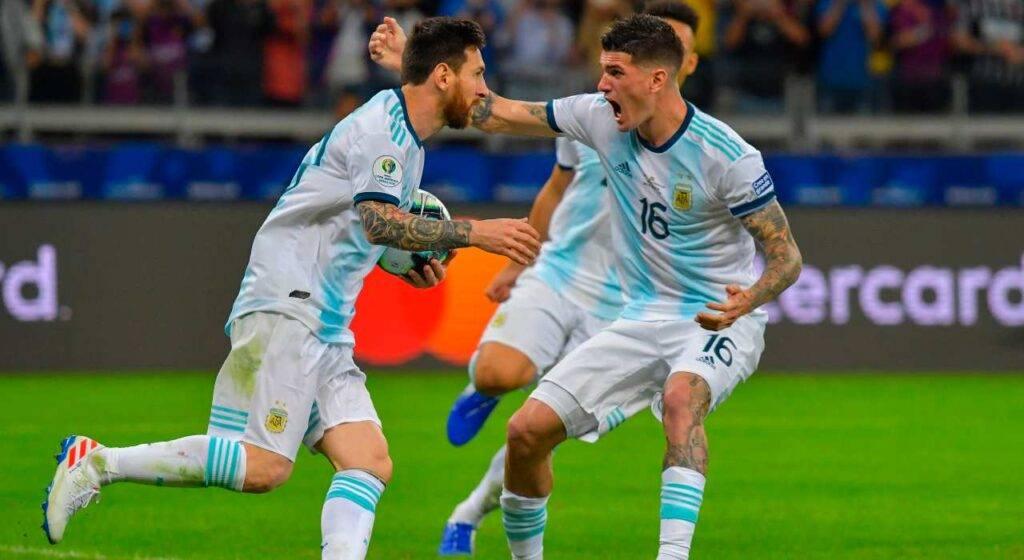 de Paul e Messi