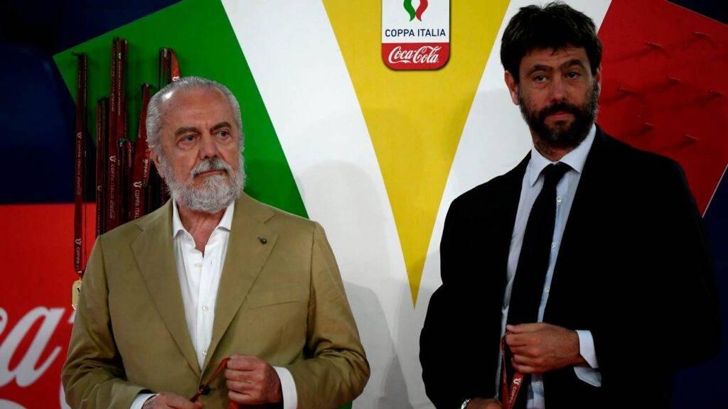 De Laurentiis e Agnelli