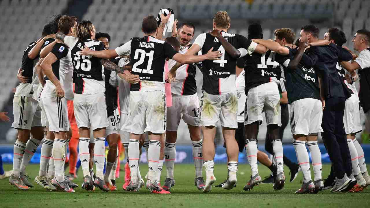 La Juve vince lo Scudetto
