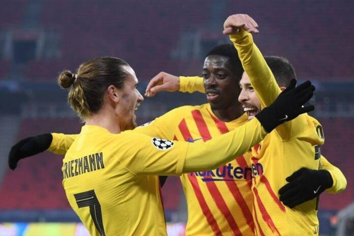 Barcellona Juventus Dembele