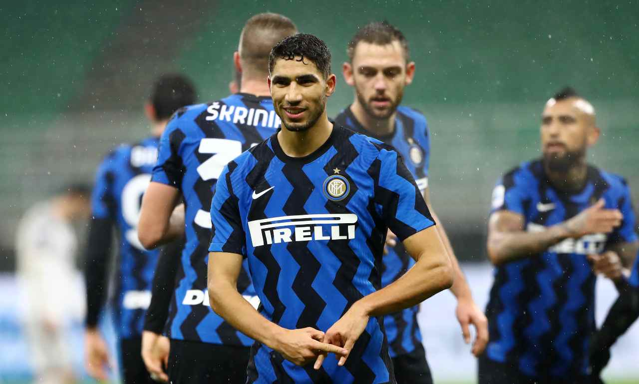 Hakimi Calciomercato Inter Real Madrid