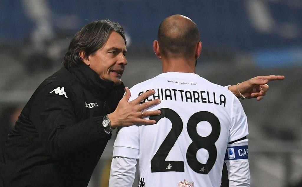 De Zerbi Inzaghi Sassuolo Benevento