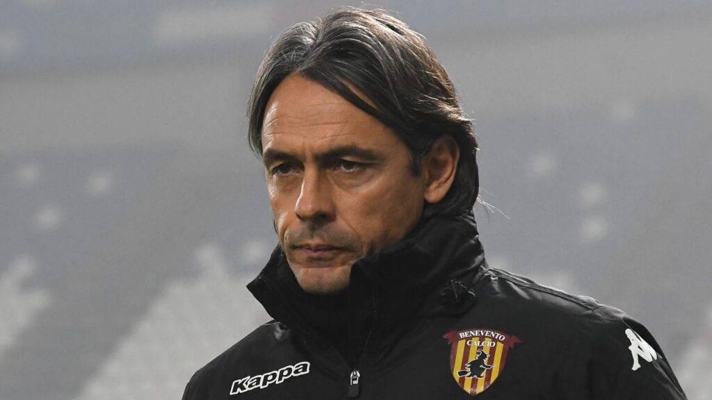 Pippo Inzaghi Coronavirus Benevento Milan