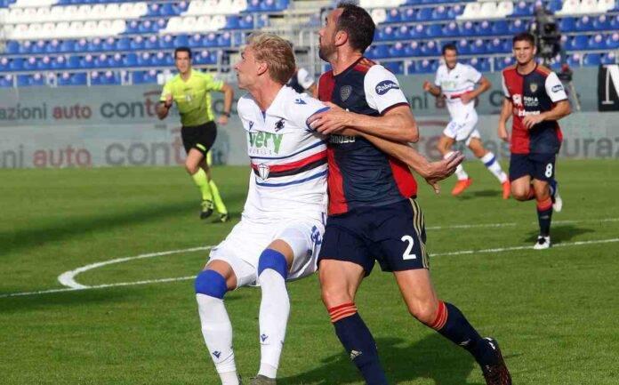 Cagliari Godin tampone