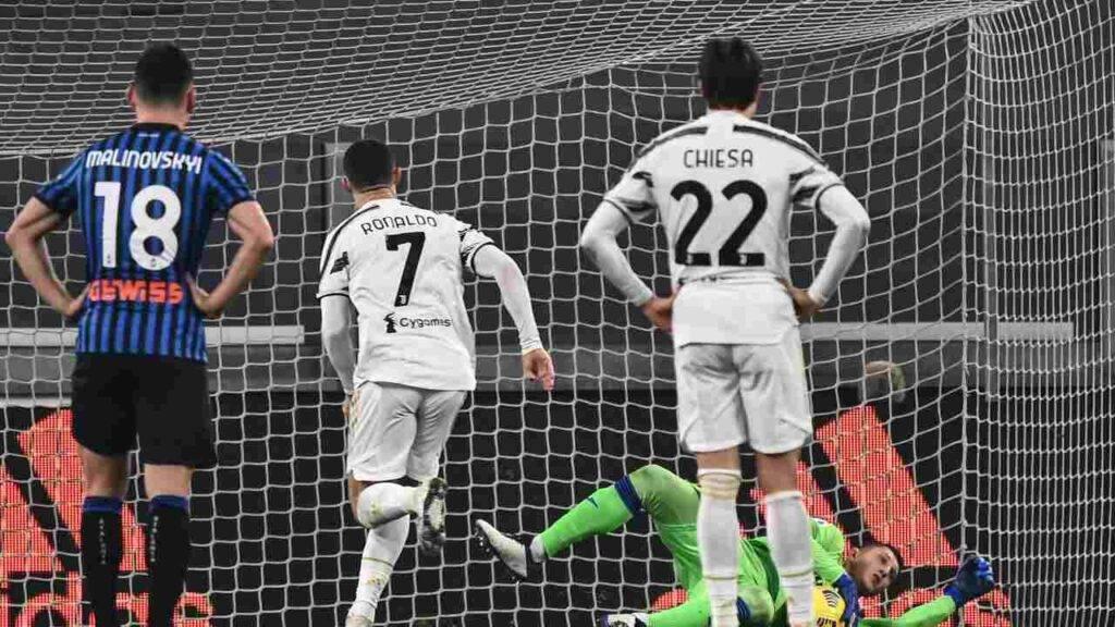 Gollini para il rigore di Ronaldo e ferma la Juventus