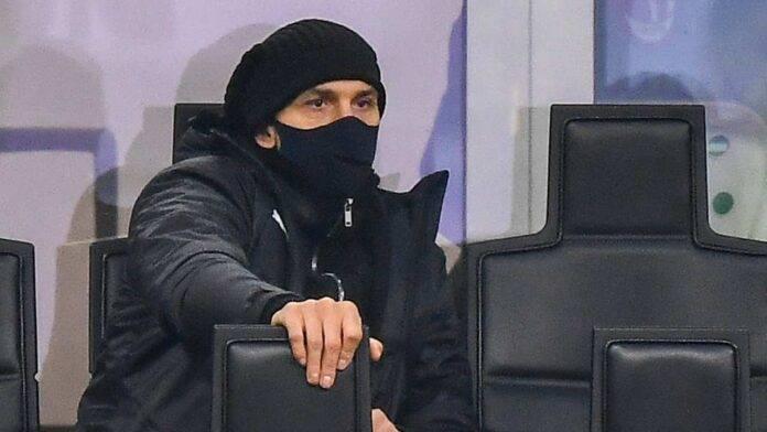 Panchina Ibrahimovic Milan Sassuolo