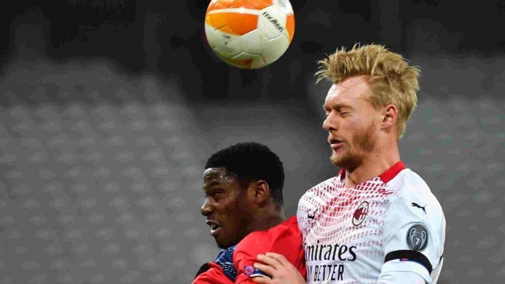 Il Milan recupera Kjaer, a Benevento ci sarà