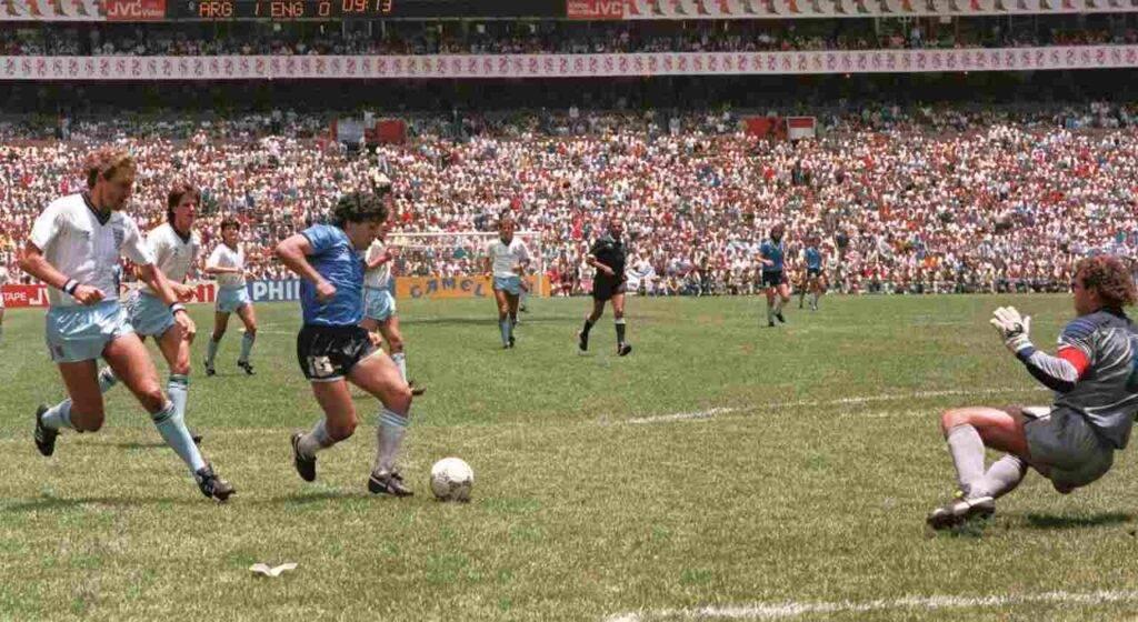 Il gol più bello di Diego Armando Maradona