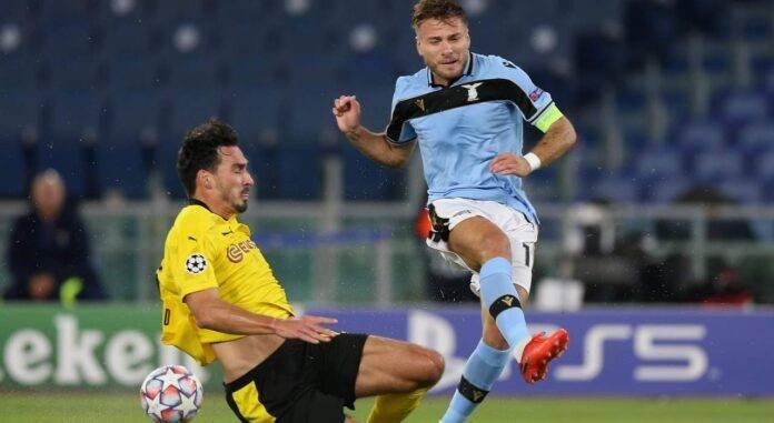 Immobile Lazio Champions