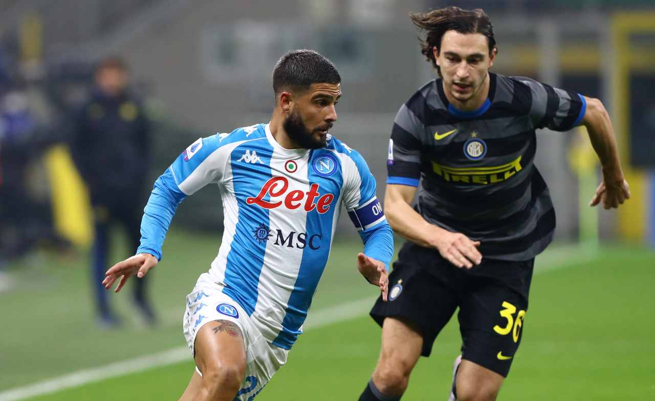 Inter Napoli Insigne