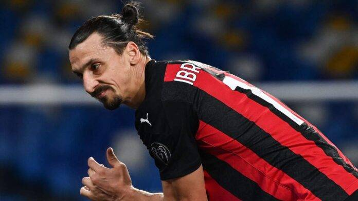 Ibrahimovic infortunio milan