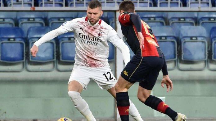Milan, anche Rebic in dubbio per il Sassuolo