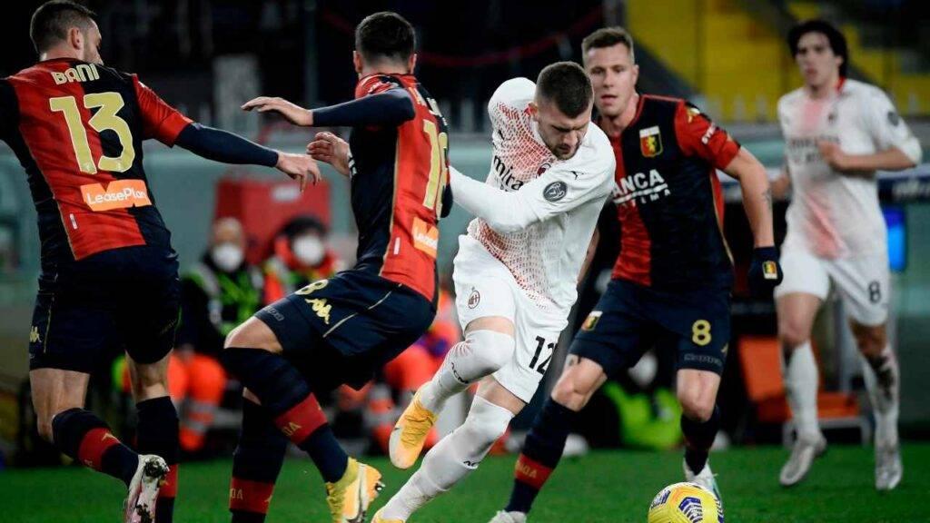 Pioli spera di recuperare Rebic per Sassuolo-Milan