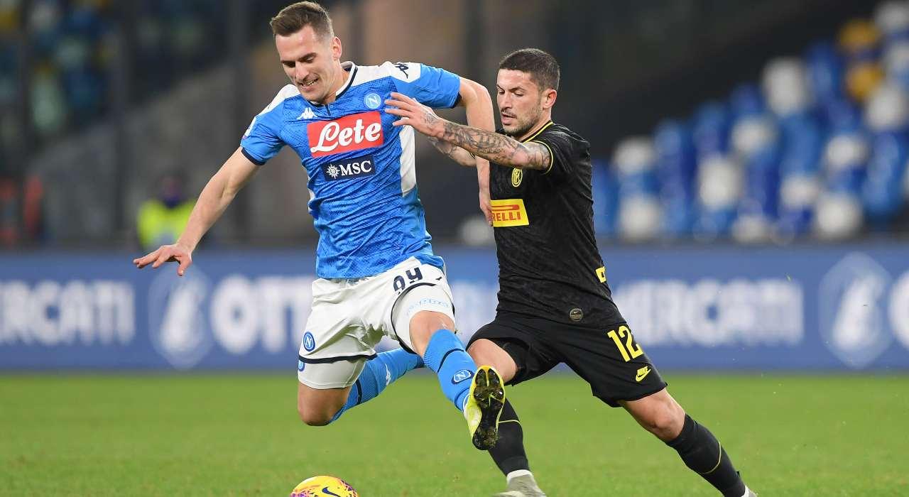 Milik Napoli scambio Juventus