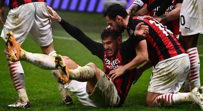 Theo Hernandez turno infrasettimanale Serie A