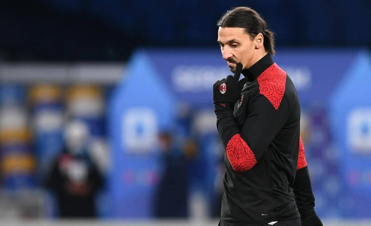 Ibrahimovic Milan Sassuolo
