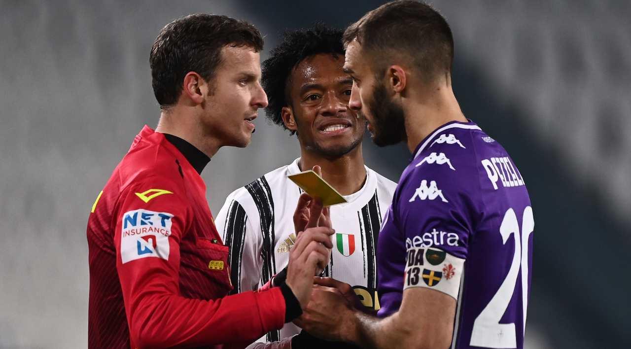 La Penna Capuano arbitro Juventus Fiorentina