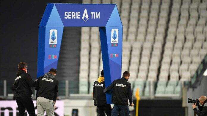 Lega Serie A all'Allianz Stadium