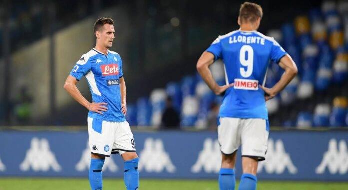 milik llorente calciomercato napoli juventus