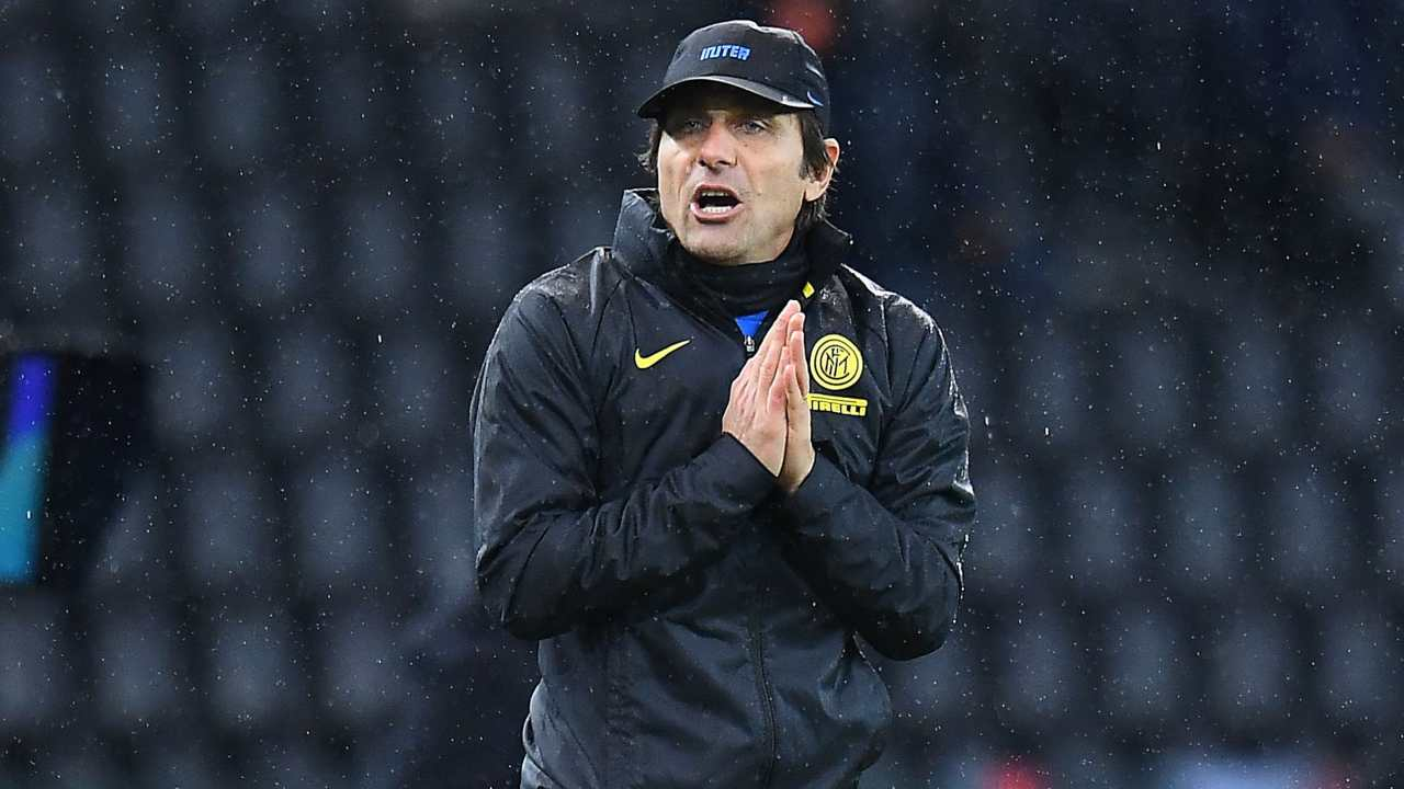 Inter, due giornate di squalifica e 20mila euro di multa a Conte