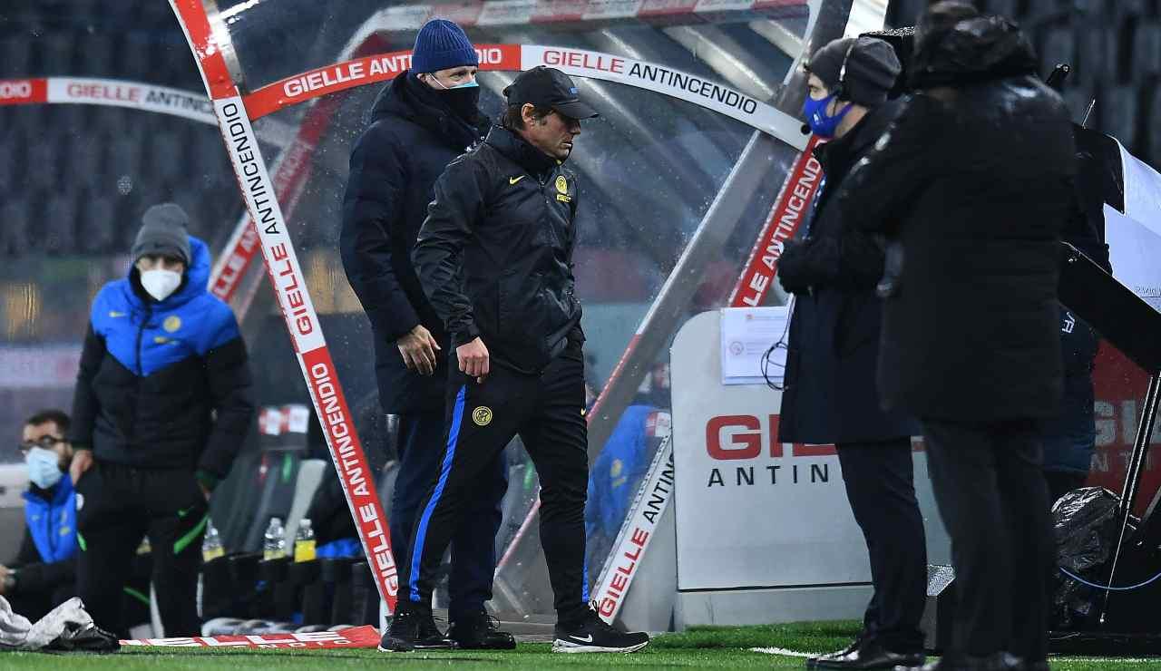 Inter Conte squalifica giudice sportivo