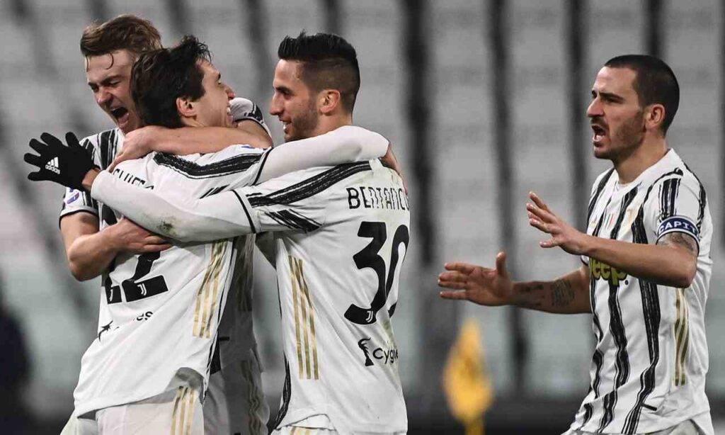 Juventus condizioni Chiesa Bentancur