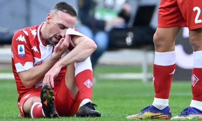 Ribery infortunio Fiorentina