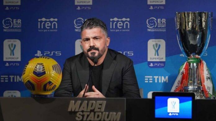Gattuso a tutto tondo nella conferenza prima di Juventus-Napoli