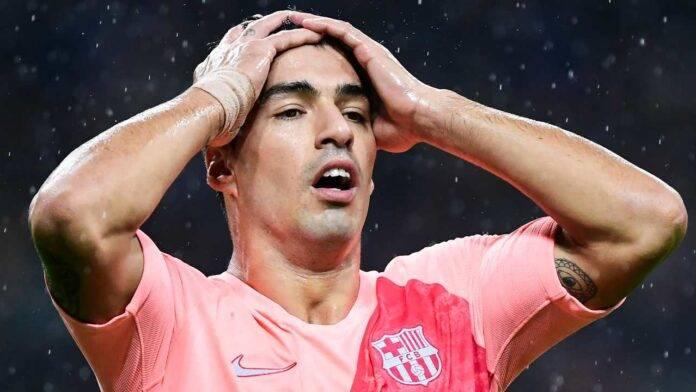Luis Suarez si dispera