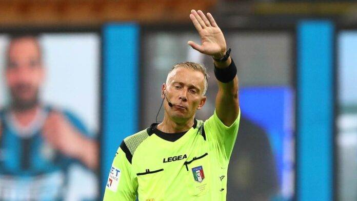 Paolo Valeri arbitro