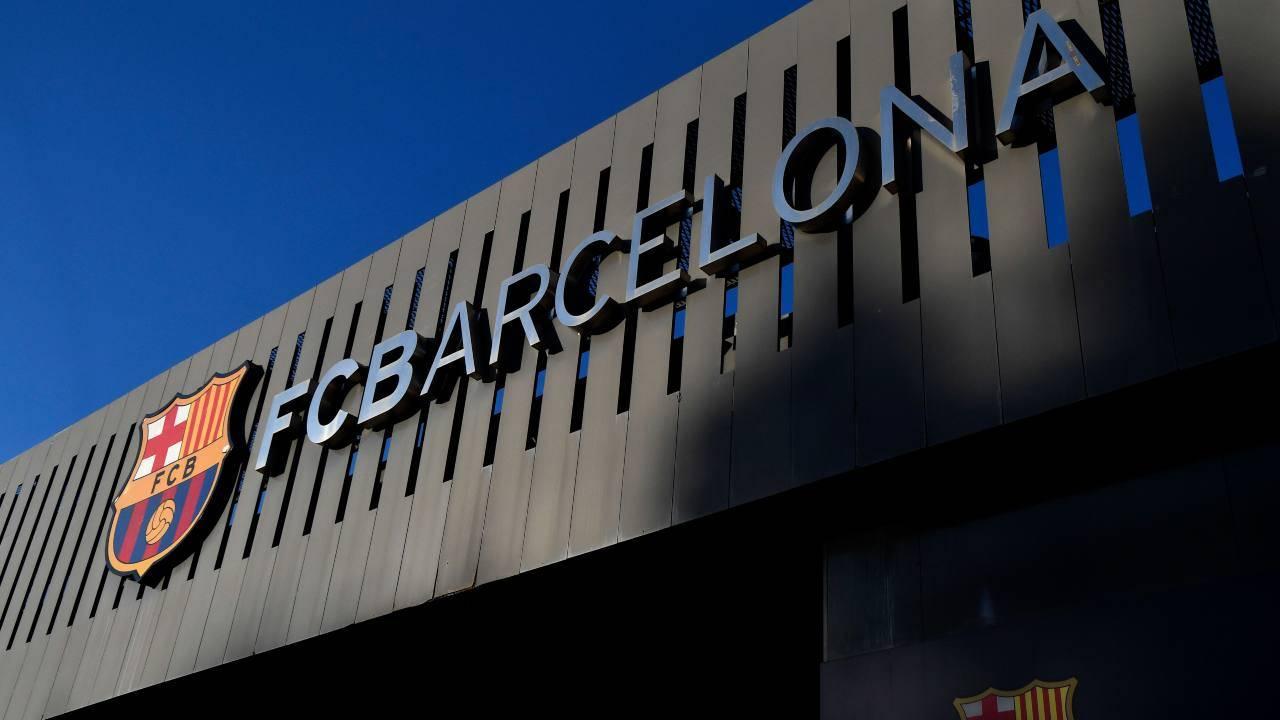 Lo stadio Camp Nou di Barcellona