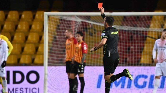 Benevento-Milan, espulsione