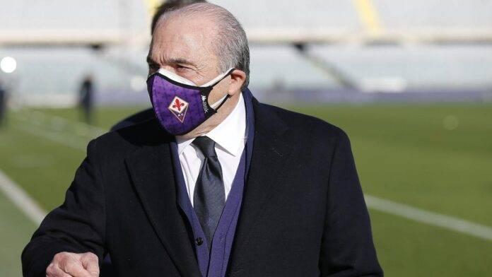 Rocco Commisso allo stadio Franchi