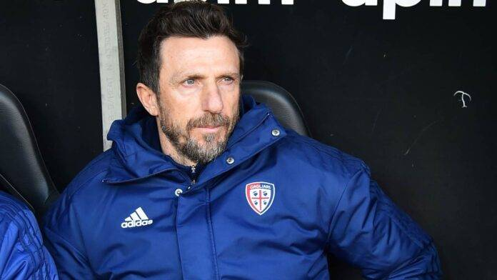 Eusebio Di Francesco in panchina