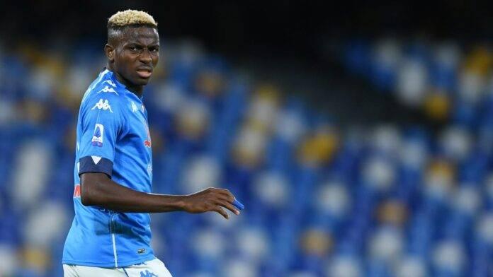 Victor Osimhen difende Gattuso