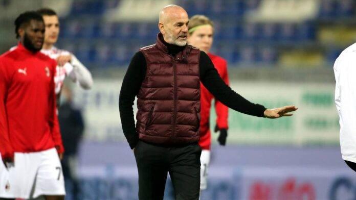 Stefano Pioli Saelemaekers Romagnoli squalificati Milan
