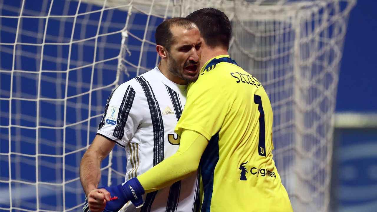 Szczesny Juventus Chiellini