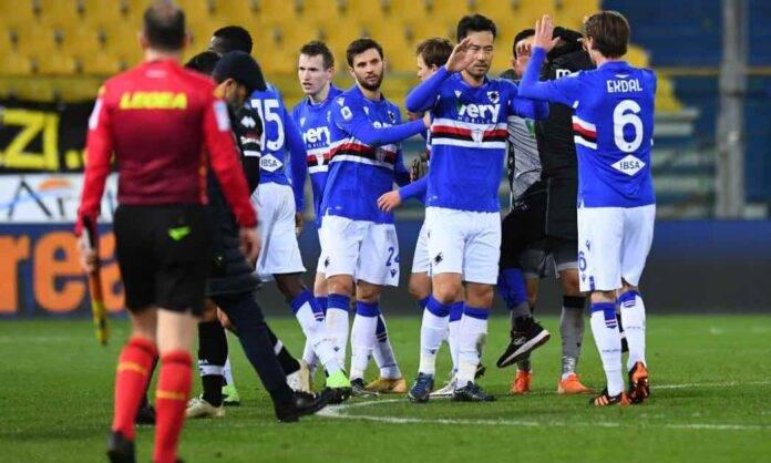 Parma Sampdoria