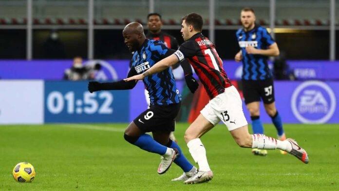 Lukaku Romagnoli Inter Milan
