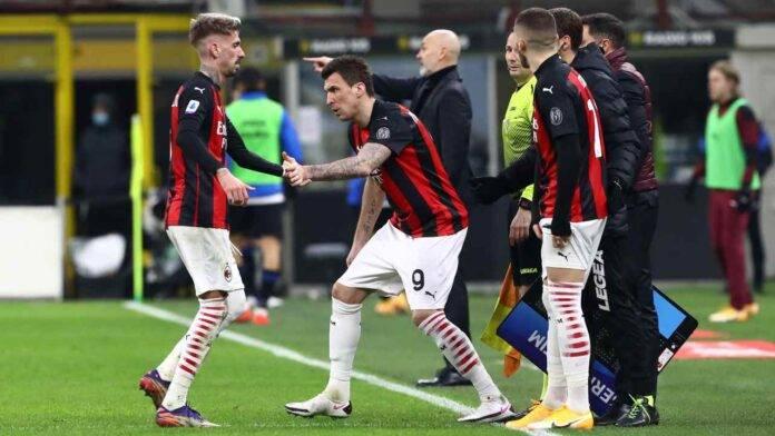 Milan convocati Inter Mandzukic Tonali