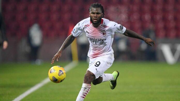 Kessie unico centrocampista di ruolo in casa Milan