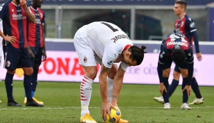 Zlatan Ibrahimovic, ancora un rigore parato a Bologna