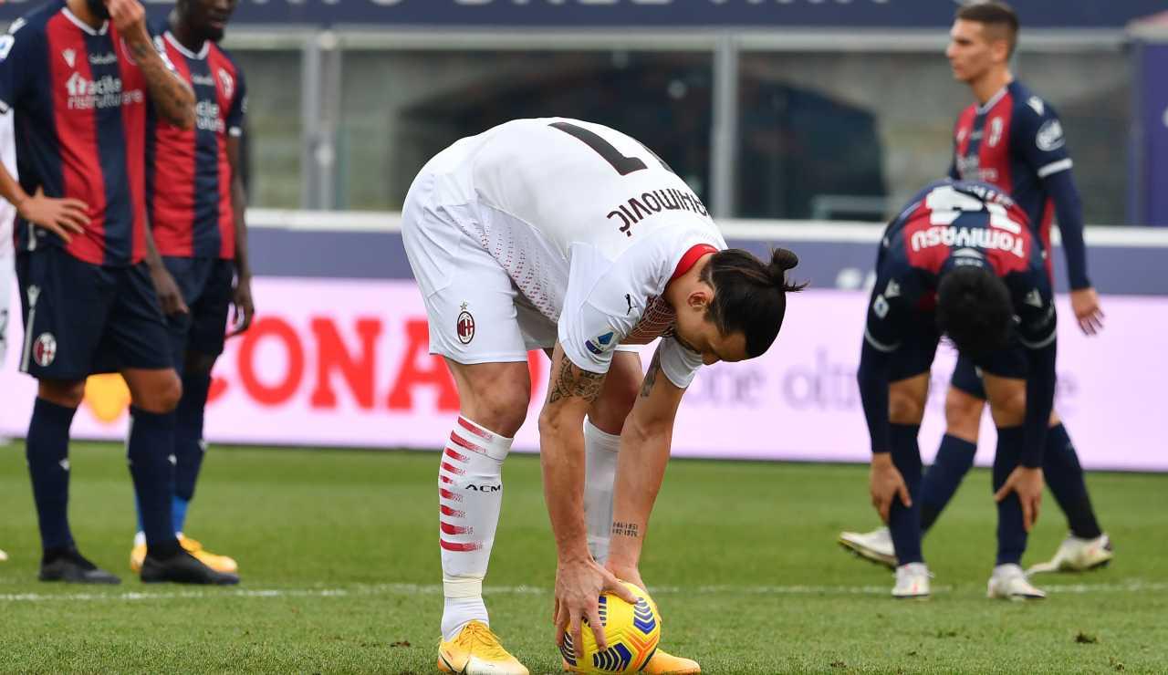Momento no per Ibrahimovic: quinto errore annuale dal dischetto