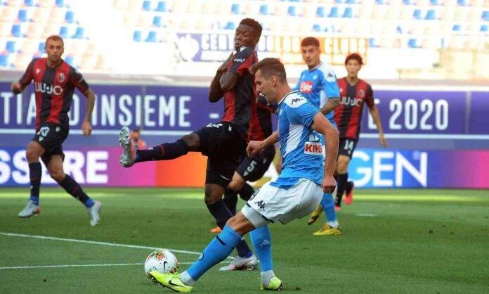 Napoli Milik Atletico