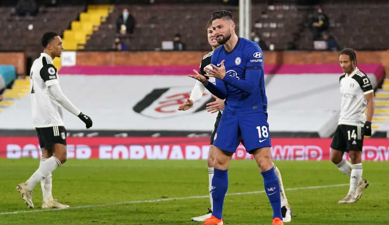 Roma Fonseca Dzeko Giroud